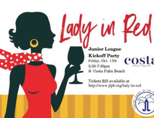 "New Date: Kickoff the Season at JLPB's ""Lady in Red"""